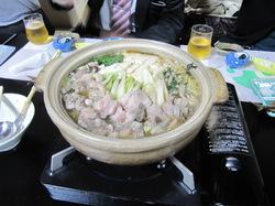 豪華な鴨鍋