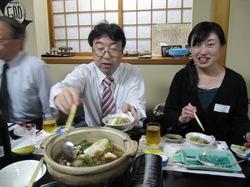志村先生と青木さんです