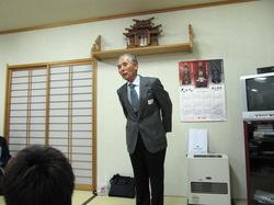 添川理事長のご挨拶